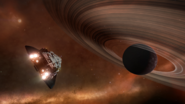 Adder-ship-space-planetary-ring