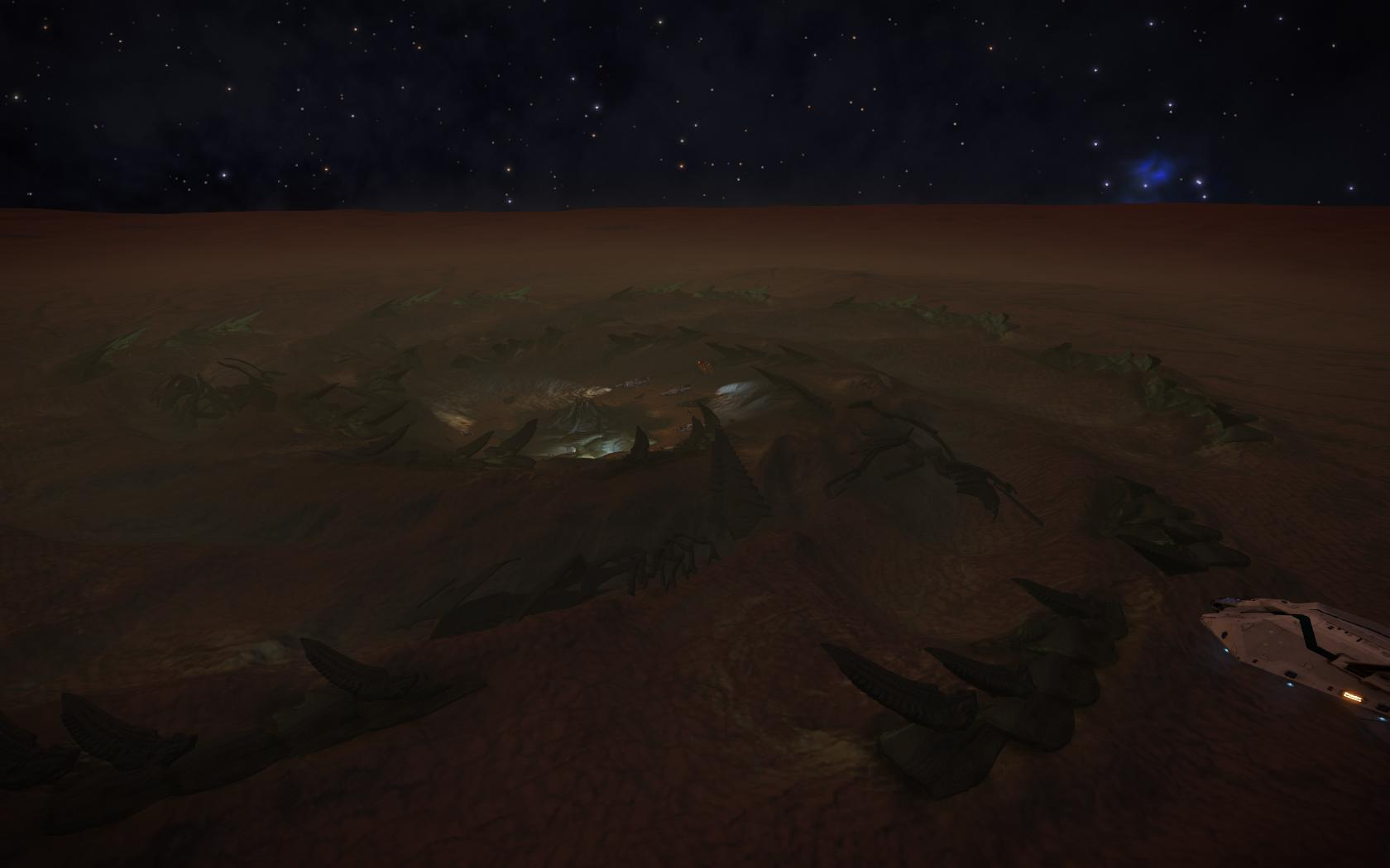 Thargoid Surface Site Elite Dangerous Wiki