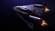 Fer-de-Lance-top-diagonal-ship-closeup