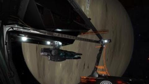 Guardian Gauss Cannons on a Krait MK II