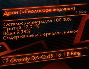 Состав астероида