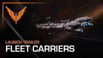 Elite Dangerous Fleet Carriers Launch Trailer