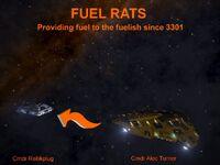 Fuel Rats ship
