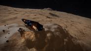 Mountain on Charon