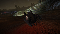 Thargoid Surface Site Scavenger close