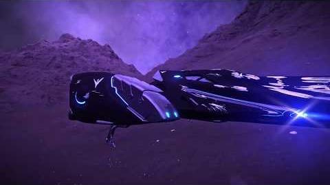 Bubble Nebula Surface Flying