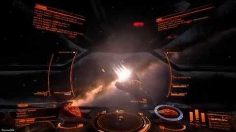 'Elite Dangerous' Gamma v1.04 - Freebooter (Flight Assist Off)
