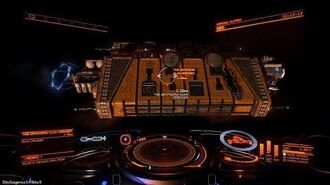 Elite Dangerous Megaship The Artificers Clan Dredger Reorte Beta 1