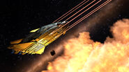 Federal Gunship sneak peek firing beams 01