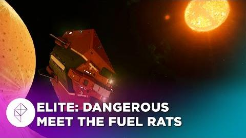 Elite Dangerous search and rescue with the Fuel Rats