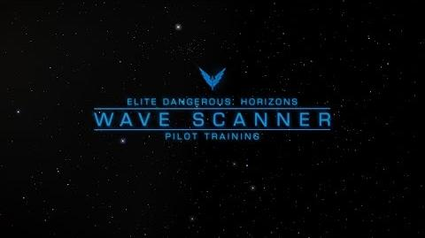 Wave Scanner - Elite Dangerous Horizons Pilot Training