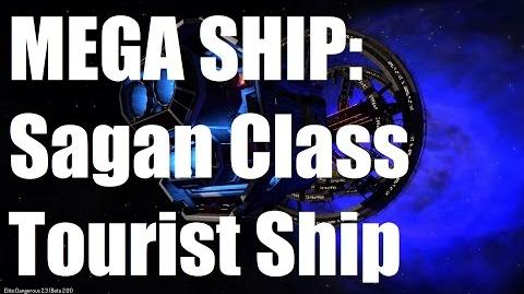 Elite Dangerous - Sagan Class Tourist Ship - Beta 2