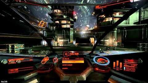 'Elite Dangerous' Beta v3.03 - Interceptor (Flight Assist Off)