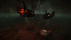 Scavengers and alien eggs