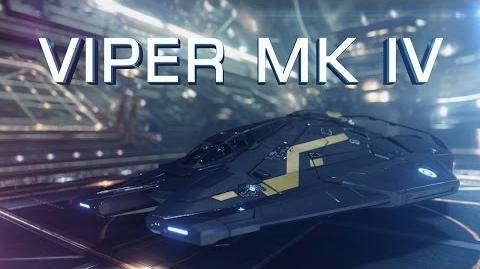 """Introducing Viper Mk IV in """"Need for Speed"""" style - Elite Dangerous Short cinematic"""