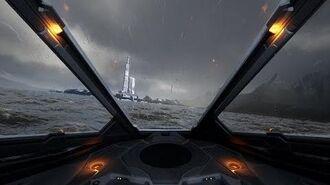 Elite dangerous - Flight in the atmosphere (fan game demo)