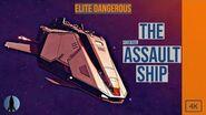 The Federal Assault Ship Elite Dangerous