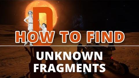 Elite Dangerous - How to Find Unknown Fragments?