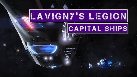 Elite- Dangerous - Lavigny's Legion's Capital Ships