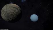 Ariel-Uranus-Sol