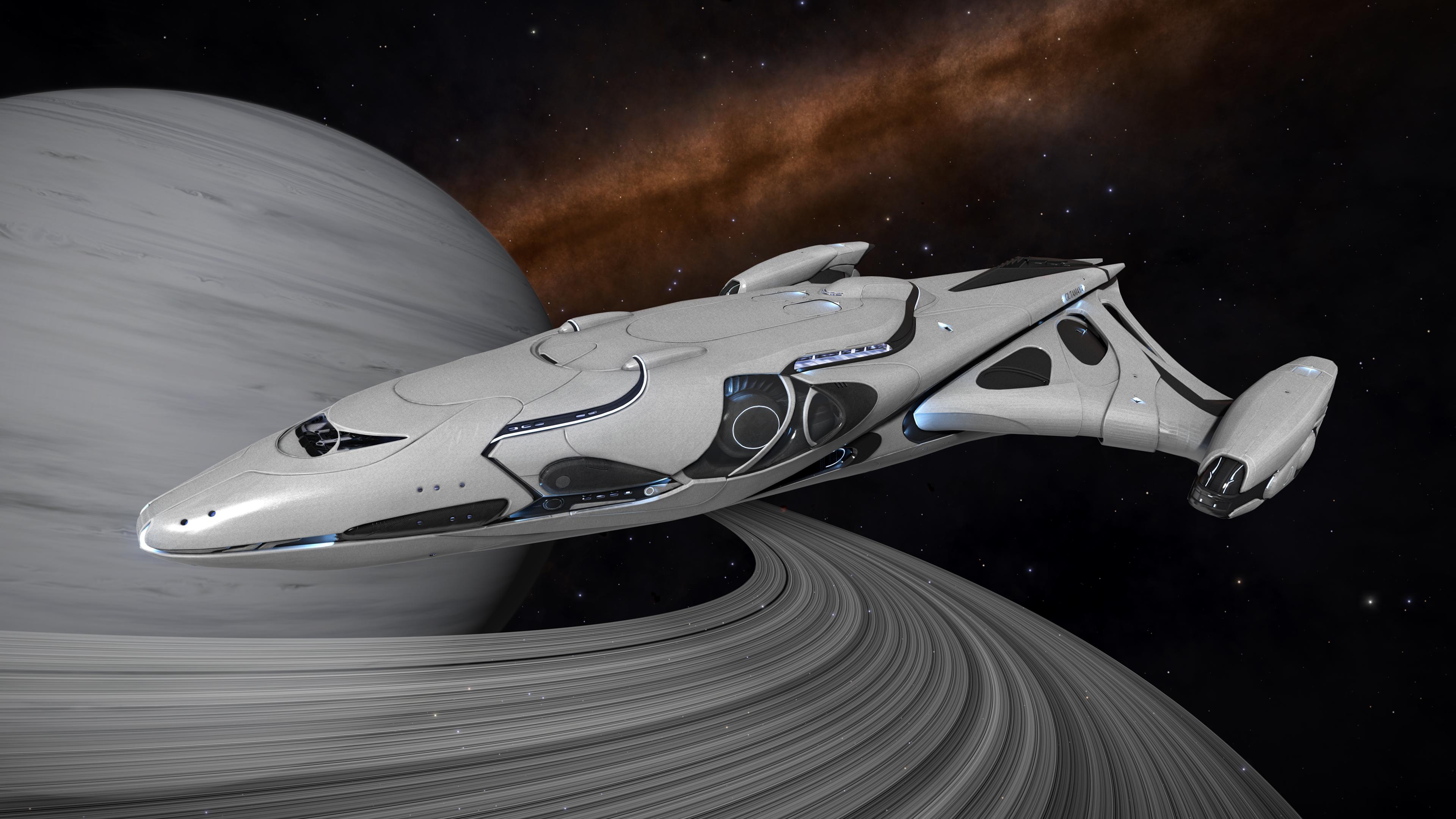 future rocket ship - HD3840×2160
