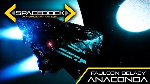 Elite Faulcon DeLacy Anaconda - Spacedock