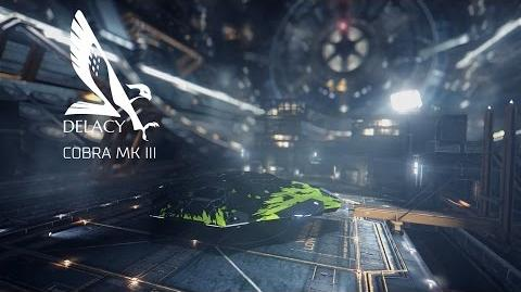 Ship Introducing Cobra Mk III - Elite Dangerous Short cinematic video