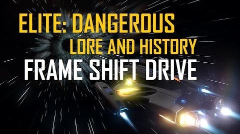 Elite Dangerous - Lore & History - Frame Shift Drives