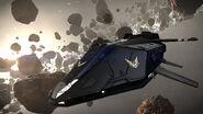 Federal Dropship в поясе астероидов