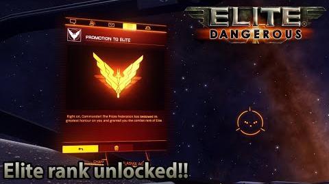 Elite Dangerous - Elite combat rank unlocked!