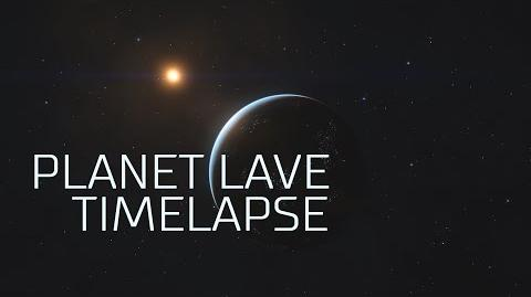 "Elite Dangerous Timelapse - ""Planet Lave"""