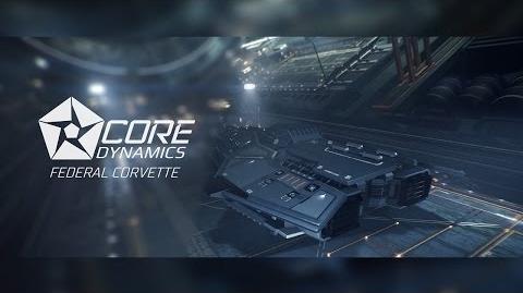 Introducing Federal Corvette - Elite Dangerous Short cinematic video