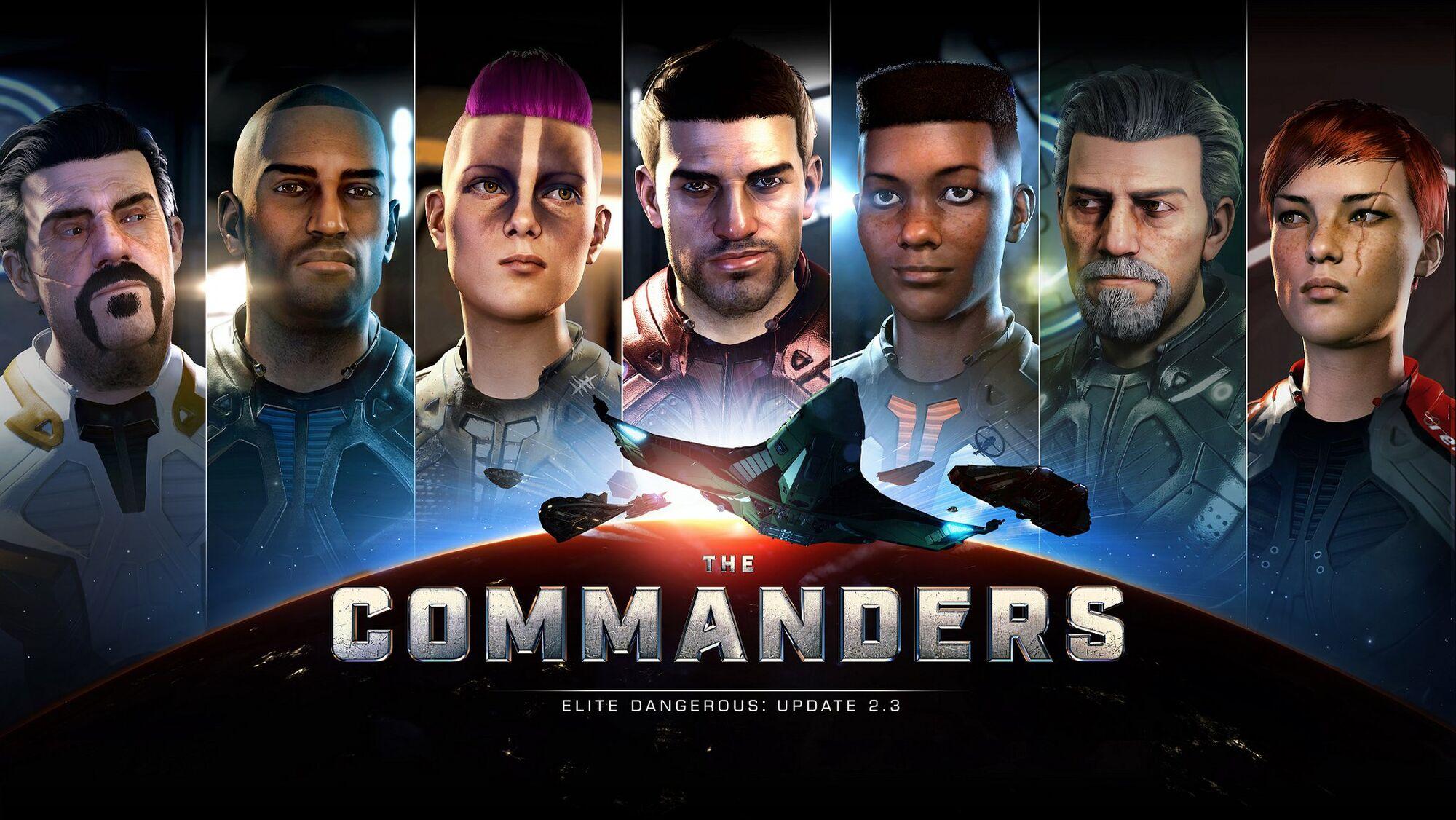 Commander   Elite Dangerous Wiki   Fandom