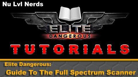 Elite Dangerous Guide to the Full Spectrum Scanner