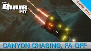 Elite Dangerous Canyon Chasing, FA off