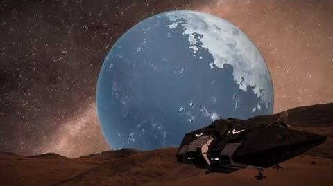 Elite Dangerous - Timelapse around a Water World