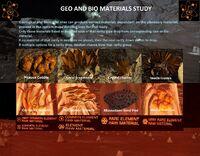 Geo and Bio Materials