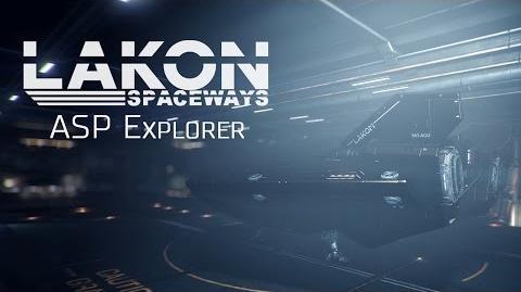 Ship Introducing ASP Explorer - Elite Dangerous Short cinematic video