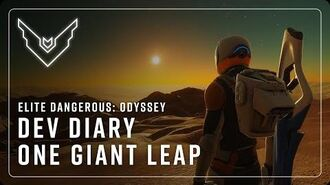 Elite Dangerous Odyssey The Road to Odyssey Part 1 - One Giant Leap
