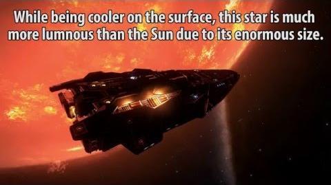 Elite Dangerous VY Canis Majoris