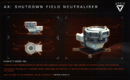 Aegis Shutdown Field Neutraliser