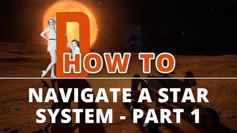 Elite Dangerous Tutorials - How to Navigate a Star System - Part 1