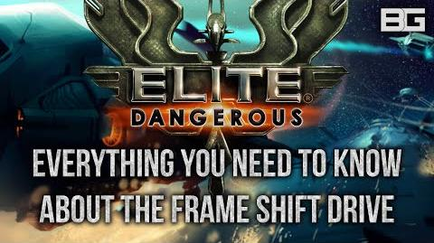 Everything you need to know about the Frame Shift Drive - Elite Dangerous Internals Guide