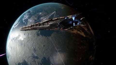 Elite Dangerous – Capital ships battle