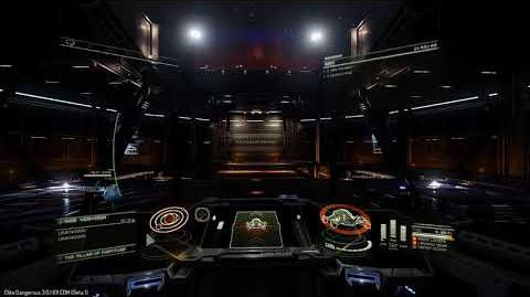 Elite Dangerous Beta Basically Walking out of Jail