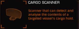CargoScanner Ingame