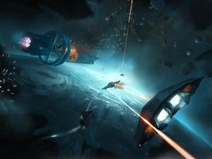 Elite-Dangerous-Capital-Ship-Combat-Art-Josh-Atack
