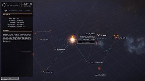 Elite Dangerous - Arcturus