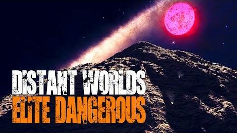 Elite- Dangerous - Epic (and Deadly!) Mountain Climb - Distant Worlds
