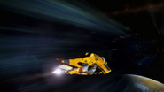 Diamondback enters Hyperspace
